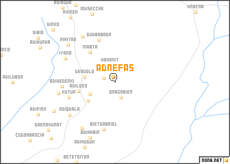 map of Ad Nefas