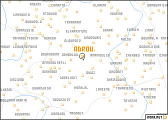 map of Adrou