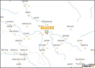 map of Adugao