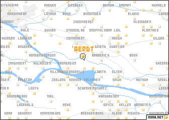 map of Aerdt