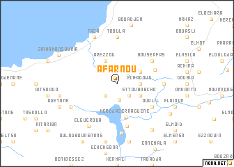 map of Afarnou