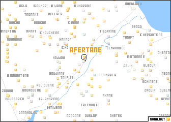 map of Afertane
