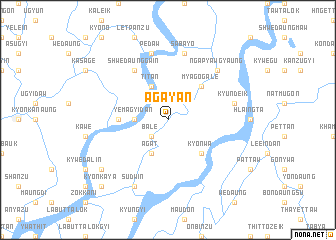 map of Agayan