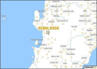 map of Agbalanga