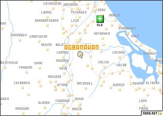 map of Agbanawan