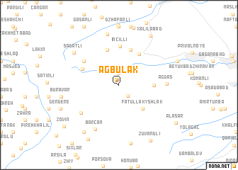map of Agbulak