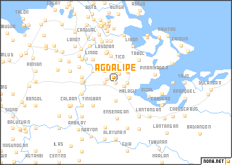 map of Agdalipe