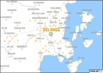 map of Aglahog
