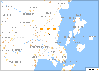 map of Aglosong