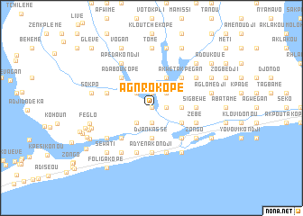 map of Agnrokopé