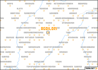 map of Agoilori