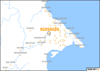 map of Agosagos