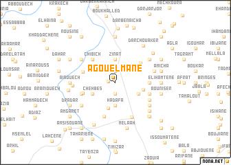 map of Agouelmane