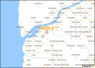 map of Agrelo