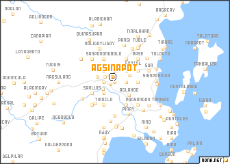 map of Agsinapot