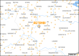 map of Agtambi