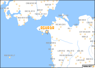 map of Aguada