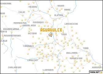 map of Agua Dulce