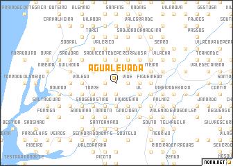 map of Água Levada