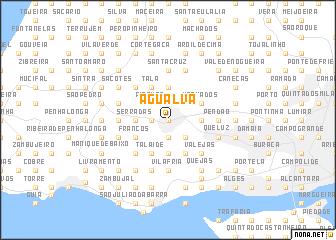map of Agualva
