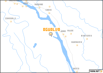 map of Agualva