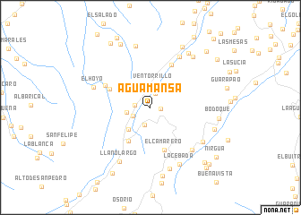 map of Agua Mansa