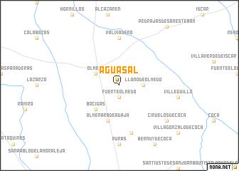 map of Aguasal