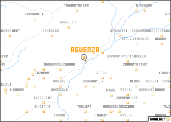 map of Aguenza