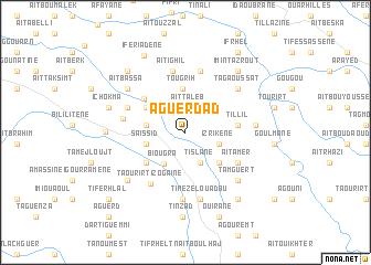 map of Aguerdad