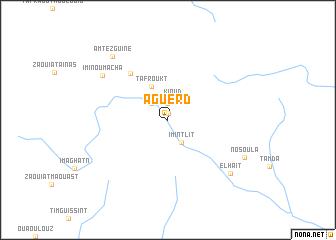 map of Aguerd