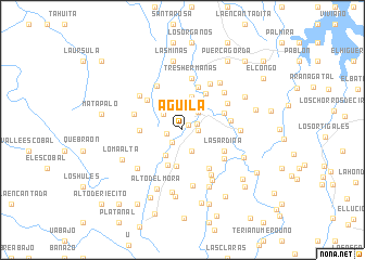 map of Aguila