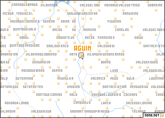 map of Aguim