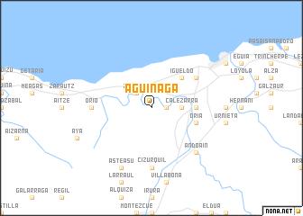 Aguinaga Spain Map Nona Net