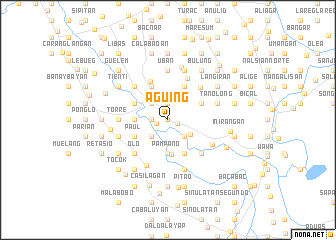 map of Aguing