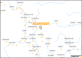 map of Agumingan