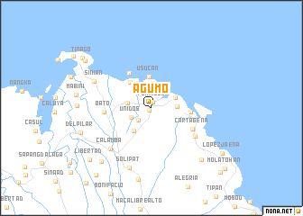 map of Agumo