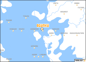 map of Agunku