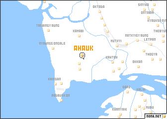 map of Ahauk