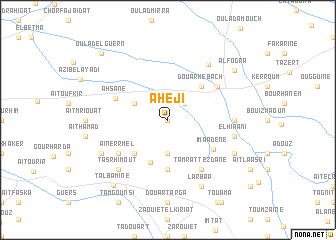 map of Aheji