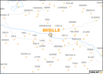map of Ahisilla