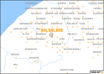 map of Ahl Salane