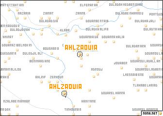 map of Ahl Zaouia