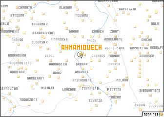 map of Ahmamiouech