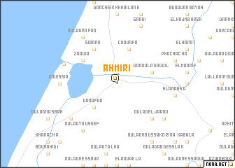 map of Ahmiri