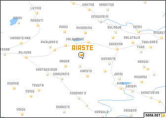 map of Aiaste