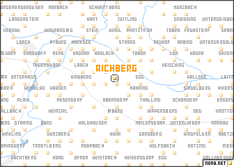 map of Aichberg