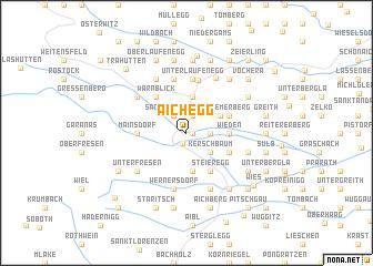 map of Aichegg