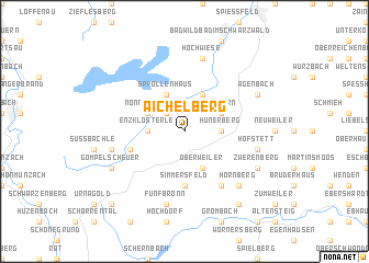 map of Aichelberg