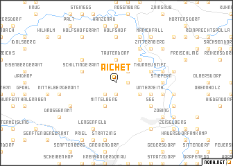map of Aichet