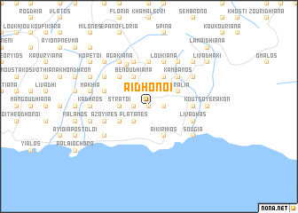 map of Aidhonoí